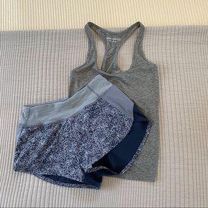 Outdoor Voices Set - Hudson Shirts + Tie Tank Top